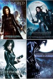 Underworld Quadrilogy ภาค1-4 สงครามโค่นพันธุ์อสูร
