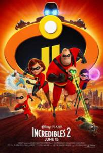 Incredibles 2 (2018) อินเครดิเบิ้ล 2: รวมเหล่ายอดคนพิทักษ์โลก