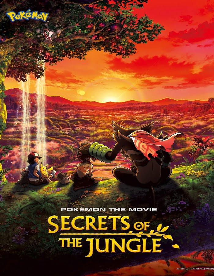 Pokemon the Movie Secrets of the Jungle (2020) โปเกมอน เดอะ มูฟวี่ ความลับของป่าลึก